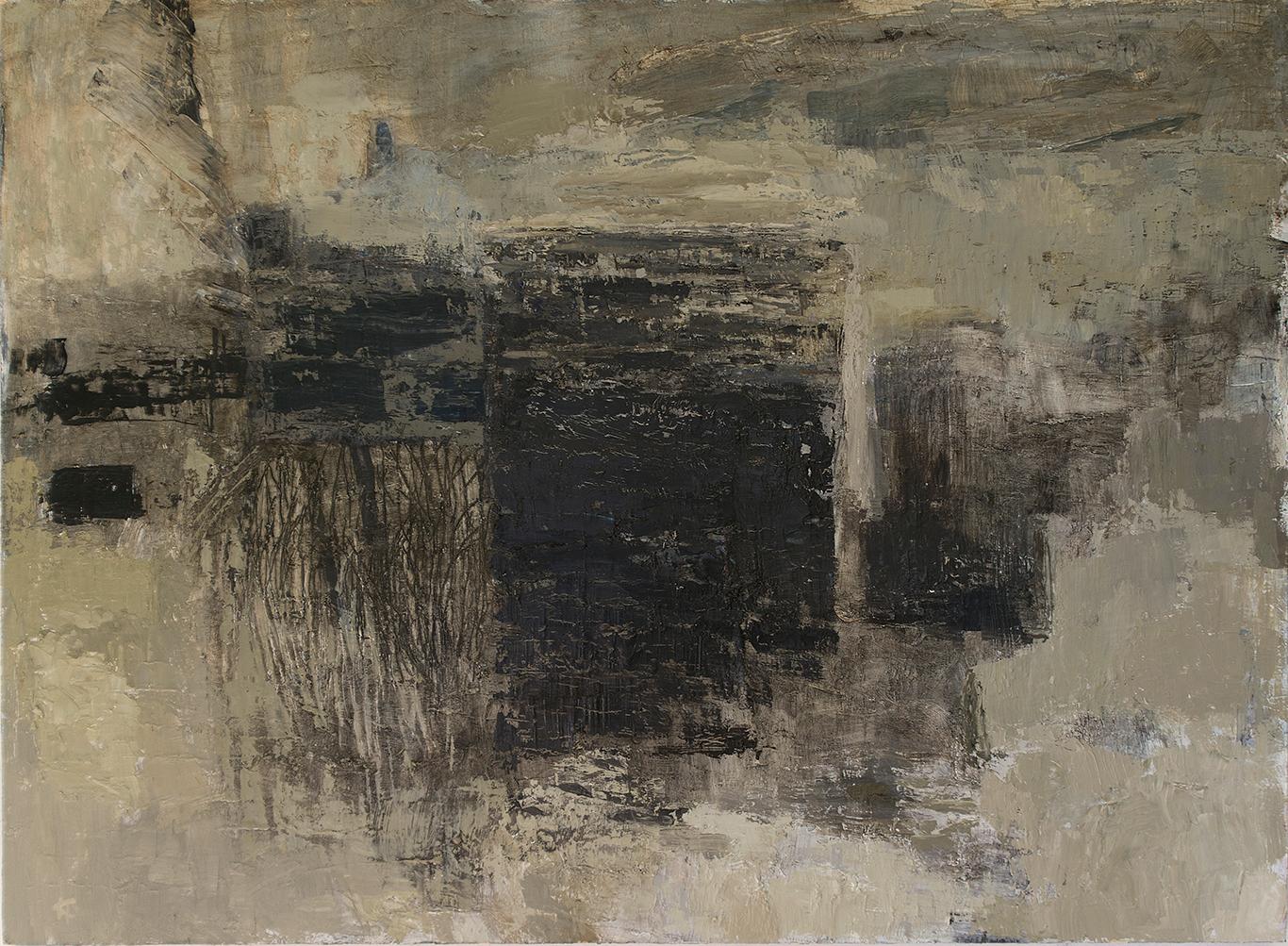 Området: Mått: 122 x 90 cm. Material: Akryl.