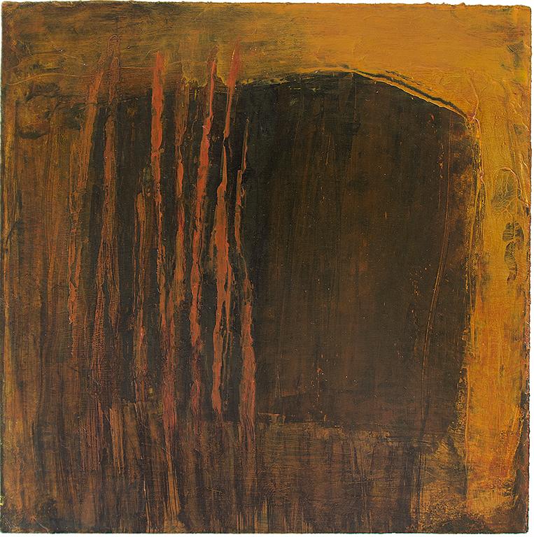 Höst 2: Mått: 20 x 20 cm. Material: Akryl.