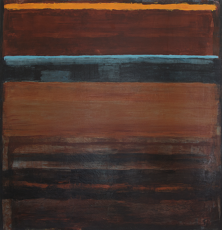 Oktober: Mått: 61 x 63 cm. Material: Akryl.
